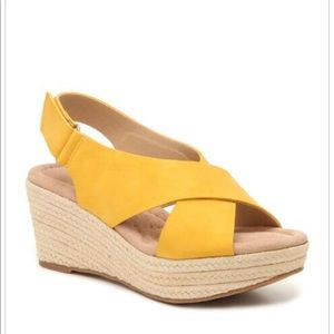 Cl by Laundry Yellow Wedges